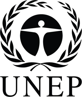 UNEP logo white
