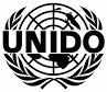 UNIDO logo white