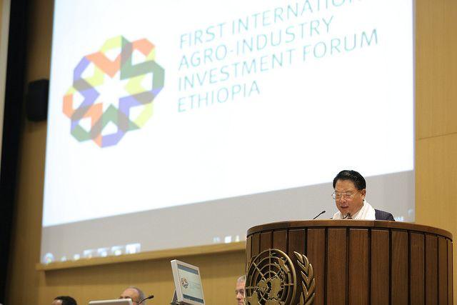 UNIDO DG Ethiopia Agro Forum